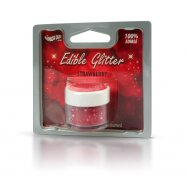 Rainbow Dust Strawberry Red 100% Edible Glitter Dust Cake Decoration