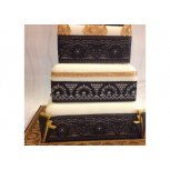 Art Deco cake lace by Claire Bowman at a cheap and affordable price from The Bakers Cupboard.