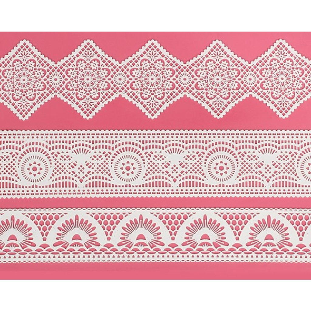 Art Deco Large Cake Lace Mat From Cake Lace By Claire Bowman
