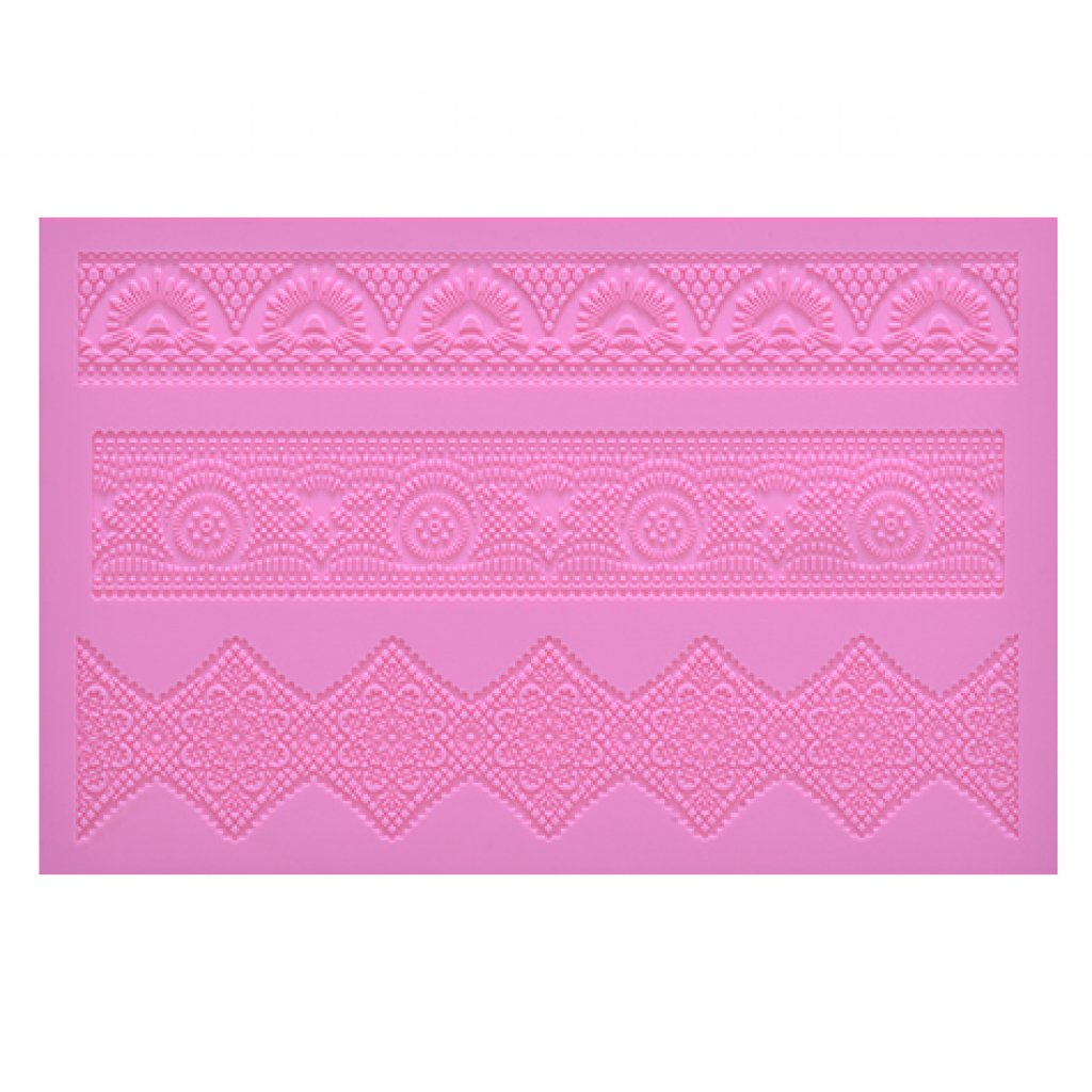 Art Deco Cake Lace Mat : Art Deco Large Cake Lace Mat from Cake Lace by Claire Bowman