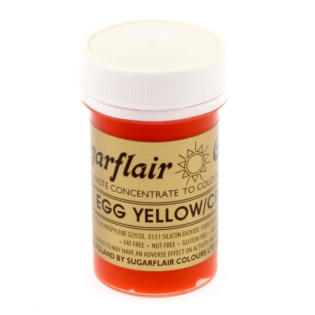 Sugarflair EGG YELLOW Spectral Paste Food Colouring